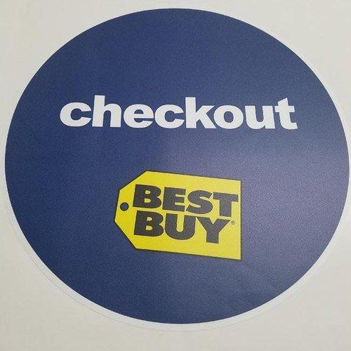 Best Buy Floor Decals