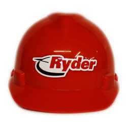 Ryder Hard Hat Stickers