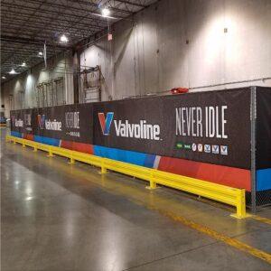 Inside Valvoline Banner